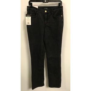 Size 6 Nicole Miller The Brooke Onyx Wash Jeans